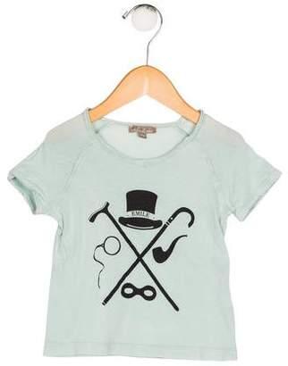 Emile et Ida Boys' Printed Knit Shirt