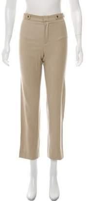 Gucci Wool-Blend Straight-Leg Pants Beige Wool-Blend Straight-Leg Pants