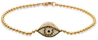 Established Mini Beaded Evil Eye Bracelet