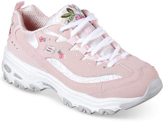 Skechers Women D-Lites - Bright Blossoms Walking Sneakers from Finish Line