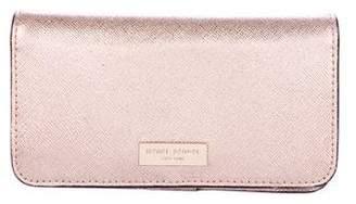 Henri Bendel Leather iPhone Case Wallet
