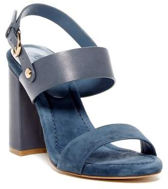 Joie Lakin Contrast Leather & Suede Sandal