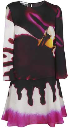 Moschino Flared Hem Dress