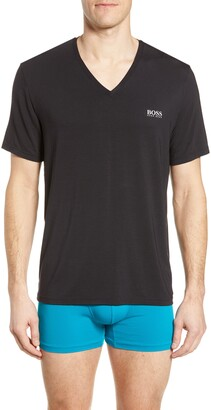 BOSS Regular Fit V-Neck T-Shirt