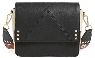 Steve Madden Bscout Statement Strap Crossbody Bag - Black $78 thestylecure.com