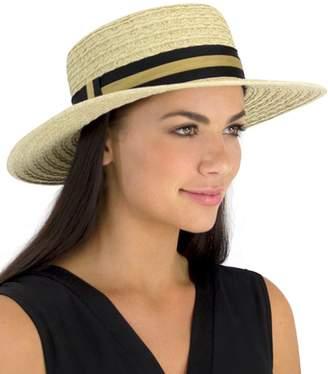 Jendi Wave Braid Boater Hat