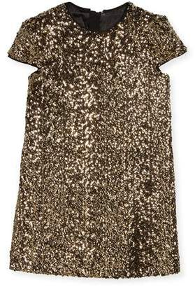 Milly Minis Chloe Sequin Dress, Size 4-7