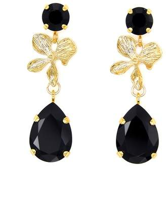 Black Orchid Rosaspina Firenze Earrings