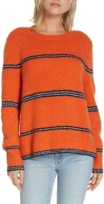 Frame Stripe Sweater