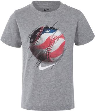 Nike Boys 4-7 Americana Baseball Graphic Tee