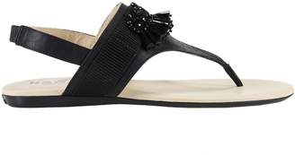 Hogan Flat Sandals Shoes Women