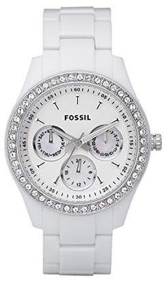 Fossil Women's Stella Quartz Resin Dress Watch