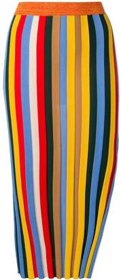 Sonia Rykiel striped pencil skirt