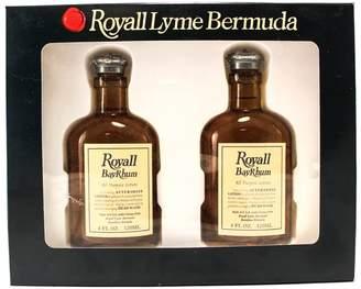Royall Fragrances Bayrhum Of Bermuda 2 Piece Gift Set(all Purpose Lotion Spray / Splash 4.0 Oz X 2 Total 8.0 Oz) for Men, 4.0 fl. Oz.