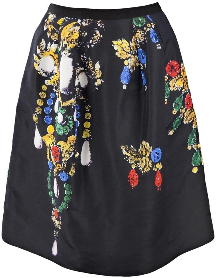 Oscar de la Renta Bijoux full skirt