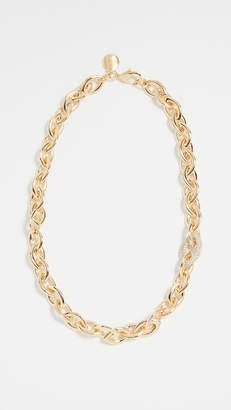 Bronzallure Bold Rolo Link Collar Necklace
