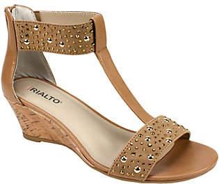 Rialto T-Strap Sandals - Cleo