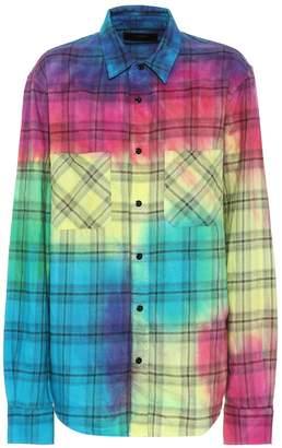 Amiri Checked cotton shirt