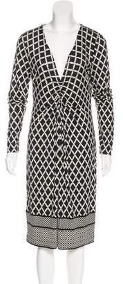 Tory Burch Silk Abstract Print Dress