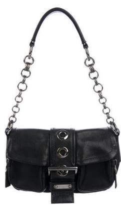 Prada Nappa & Tessuto Chain Bag