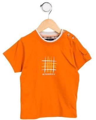 Burberry Boys' Graphic T-Shirt w/ Tags