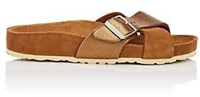 Birkenstock Women's Siena Suede Crisscross Sandals-Camel