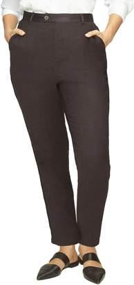 c586f9ec3c7 Black Satin Pants Plus Size - ShopStyle