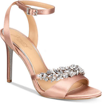 Badgley Mischka Merida Evening Sandals Women Shoes