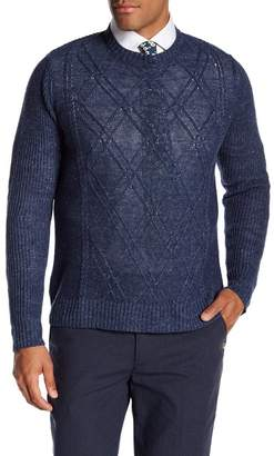 Robert Graham Randai Long Sleeve Linen Sweater