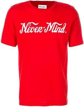 Études Never-mind T-shirt