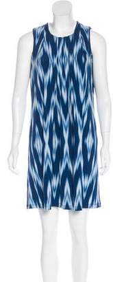 Calvin Klein Collection Printed Pleated Dress