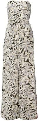 Alexis foliage print jumpsuit