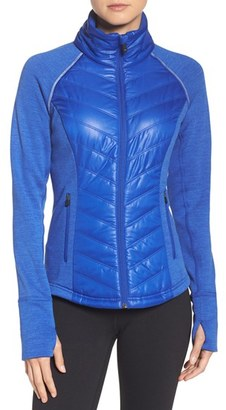 Women's Zella Zelfusion Reflective Quilted Jacket $129 thestylecure.com