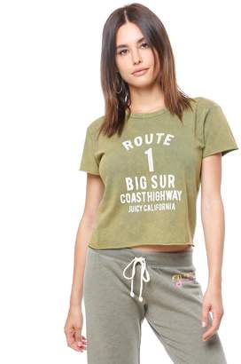 Juicy Couture Route 1 Graphic Tee