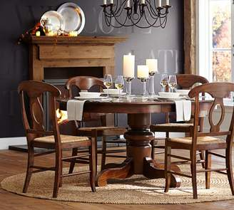 At Pottery Barn · Pottery Barn Tivoli Extending Pedestal Table U0026 Napoleon  Chair 5 Piece Dining Set