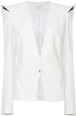 Thierry Mugler metallic detail tailored jacket