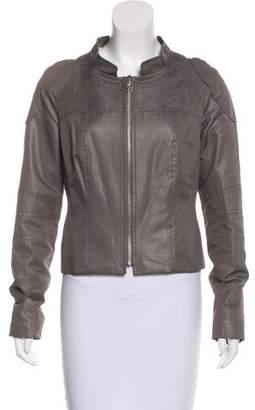 Christian Lacroix Coated Zip-Up Jacket