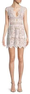 For Love & Lemons Mon Cheri Mini Dress