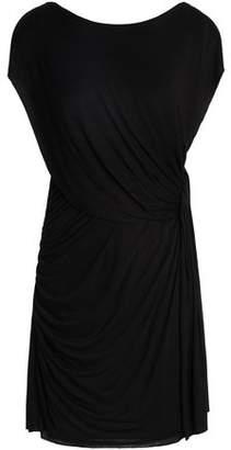 Bailey 44 Draped Jersey Mini Dress