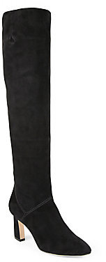 Brian Atwood Isidora Suede Knee-High Boots