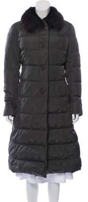 d2b3c0757 Down Coat Fur Collar - ShopStyle