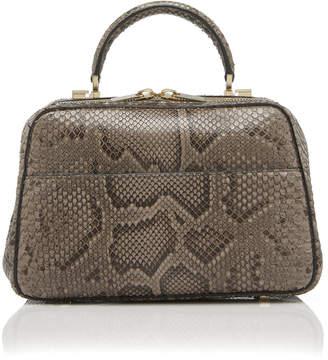 Valextra Serie S Snakeskin Bag