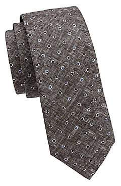Brunello Cucinelli Men's Dot Silk Tie