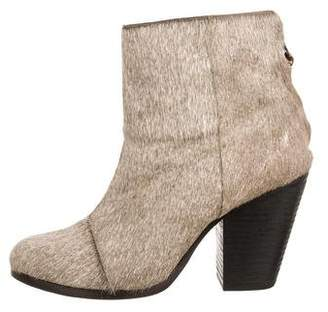 Rag & Bone Ponyhair Newbury Ankle Boots