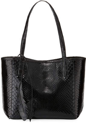 df080780266b Nancy Gonzalez Erica Small New Python Leaf Tote Bag