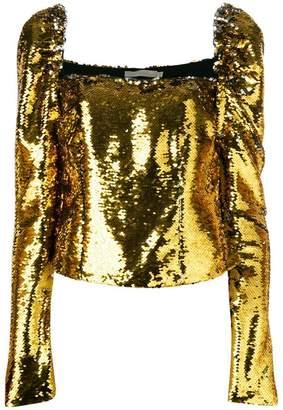 Amen sequin embellished top