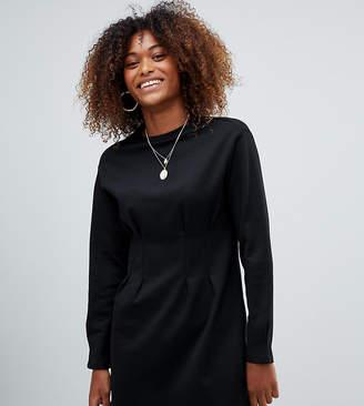 Bershka waist fitted jersey dress