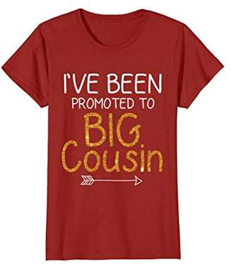 I've Been Promoted to Big Cousin Arrow Family Baby T shirt
