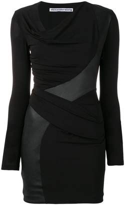 Alexander Wang wrap-around tube dress