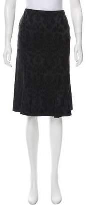 Lela Rose Knee-Length Skirt